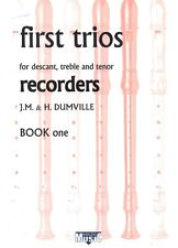 KIRKLEES RECORDER TRIOS Book 1 First Trios