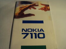 ORIGINAL MANUAL USER GUIDE FOR NOKIA 7110