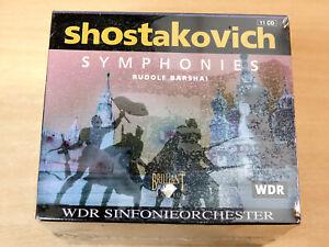 MINT & Sealed !! Dmitry Shostakovich Symphonies/1998 11x CD Set/Rudolf Barshai
