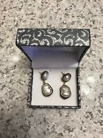 14 k gold pearl earrings pre owned