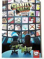 NEW - Disney Comics Gravity Falls Shorts: Just West of Weird by Disney, 2017