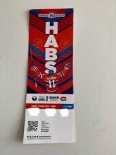 unused season hockey tickets Canadiens Samedis Fanatiques march 23 2018/2019