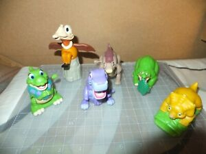 6 Land Before Time Burger King Kids Meal Toys 1997 Littlefoot Duckie Cera Petrie