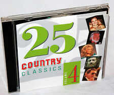 CD 25 COUNTRY CLASSICS Vol.4 Patsy Cline,Kitty Wells,Frankie Laine entre otros