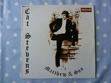 Cat Stevens Matthew & Son 14 Track Vinyl LP (Red/White Deram Labels)