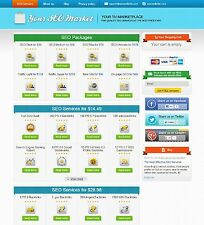 Wordpress Based  -SEO Reseller Turnkey Website - 40+ Services-100% Automated