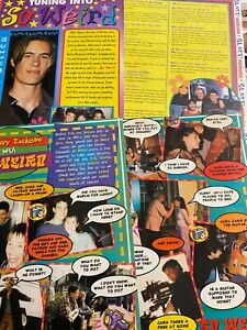 So Weird, Erik Von Detten, Lot of TWO Two Page Clippings