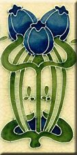 Art Nouveau Reproduction 3 X 6 Inches Ceramic Wall Tile #00002s