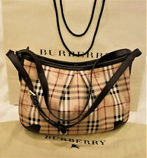 Burberry Shoulder Bag/Handbag Classic Burberry Haymarket Check Made in Italy