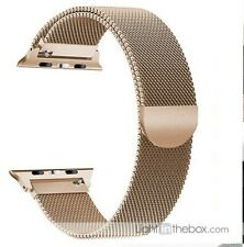 Replacement Strap Compatible with Apple Watch (1/2/3/4/5) 42mm, Stainless Steel
