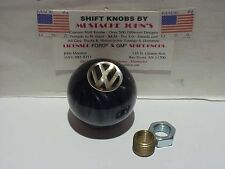 "VW, Volkswagen, Custom 2"" Shift Knob, Car,truck,Hot Rod, (Black Pearl)"