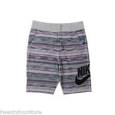 NWT $70 Mens Nike FC Squad Knit Cotton Shorts Dust Gray & Black sz XXXL - 744421