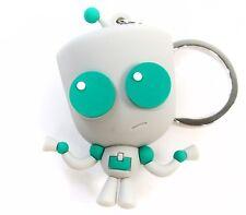 INVADER ZIM 3D Figural Keyring Series GIR KEYCHAIN Opened Blind Bag Nickelodeon