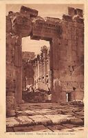 B57951 Liban Lebanon baalbek temple de bacchus