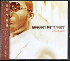 RAHSAAN PATTERSON-Wines& Spirits 12tracks Rare Japan CD w/OBI