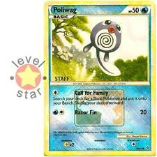 POLIWAG Unleashed STAFF City Championship Event Stamped Promo 58/95 Pokemon Card