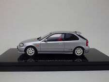 HONDA CIVIC Type R EK9 late version  Silver  1:43 EBBRO NEW