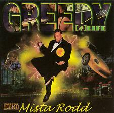 "MISTA RODD - ""GREEDY 4 LIFE"" - 13 TRACK MUSIC CD - BRAND NEW - G084"