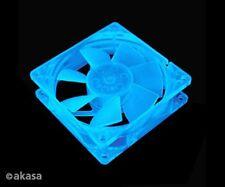 Akasa Azul Uv Reactivo 80 Mm Case Fan lo-noise