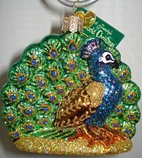 Old World Christmas Peacock Proud Ornament 16074 27