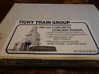 Tichy Train Group #7010 HO 400-Ton Concrete Coaling Tower