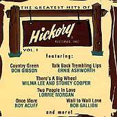 "THE GREATEST HITS OF HICKORY, VOL. 1, CD ""NEW SEALED"