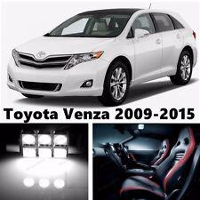 14pcs LED Xenon White Light Interior Package Kit for Toyota Venza 2009-2015