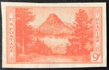 1935 9c Glacier National Park Farley Single, Scott #764, MNH, NGAI, VF
