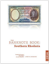 Southern Rhodesia chapter from new catalog of world notes, The Banknote Book