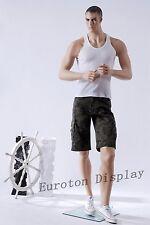 MA13  Hochwertige Schaufensterpuppe Schaufensterfigur männlich male Mannequin