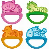 NEW Light Baby Teether with Rattle Soft Bite Teether Teething Soothing Toy 0m+