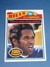 1976 Topps O. J. SIMPSON #100 BILLS