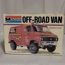 Vintage Monogram Chevy Off Road Van Built 1/24 Model Kit Desert Rat Chevrolet