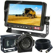 "Machinery Safety Observation Camera Kit 7"" Reversing Monitor Two Backup Cameras"