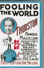 Collectible Vintage 1928 Original Magic Thurston the Magician Program Booklet
