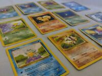 Base Set Pokemon Cards Lot