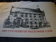 Finch Pruyn Beach Towel Glens Falls New York Vintage & Rare 135 Years Paper