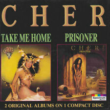Cher ‎– Take Me Home / Prisoner 2 x Cd Album on 1 Disc Casablanca Records Years