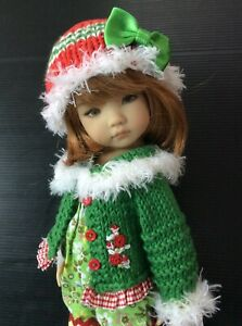 """Outfit for Dianna Effner doll Little Darling 13"""" 5pc."""