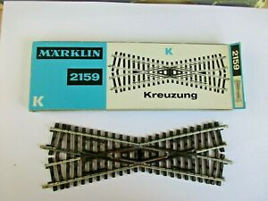 Marklin HO Track- K Track Crossing Section #2159/2259