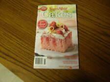 1306) Betty Crocker Super Moist Cakes Recipe Book 2007 Paperback