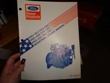 Ford Truck RSG RSD 422 428 431 Industrial Engine Service Shop Manual  194-114