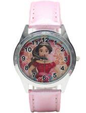 Disney's Princess Elena Pink Genuine Leather Band WRIST WATCH