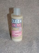 Soap & Glory Clean On Me CREAMY Moisture Shower Gel 3.4 oz/100mL New