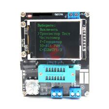 GM328 Russian Transistor Tester Resistor Meter Inductance Capacitance ESR Meter