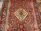 """5'2""""x11'5"""" Wide Fine 1950's Hand knotted wool Malayer Oriental area rug runner"""
