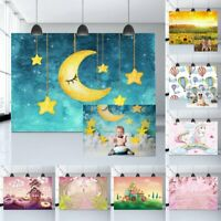 Baby Birthday Wall Floor Photography Photo Background Backdrop Studio Props
