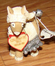 Reindeer White Hat (Heart of Christmas Collection, 4058270) Celebrate Bells On