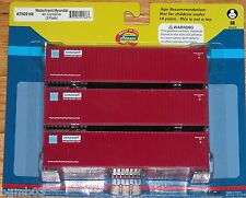 ATHEARN 29168 40' CONTAINER 3-PACK WATERFRONT / HYUNDAI