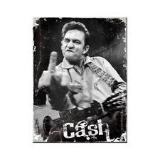 Magnet 14315 - Johnny Cash - Finger - 8 X 6 cm - Neu